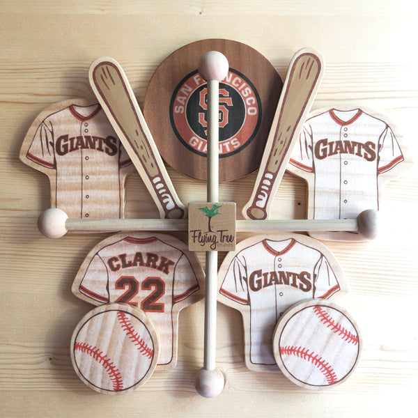San Francisco Giants Baseball Baby Mobile