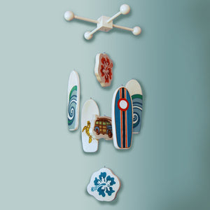 HERMOSA -  Surfboard Baby Mobile