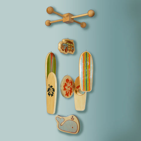DOHENY -  Surfboard Baby Mobile