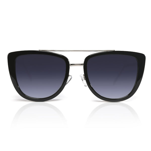 Black Modern Cat Eye Sunglasses