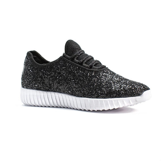 Glitzy Kicks (Black)