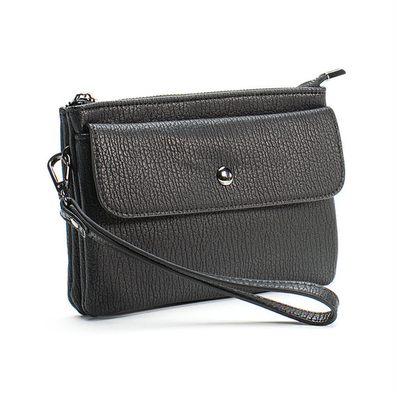 Black Vegan Clutch