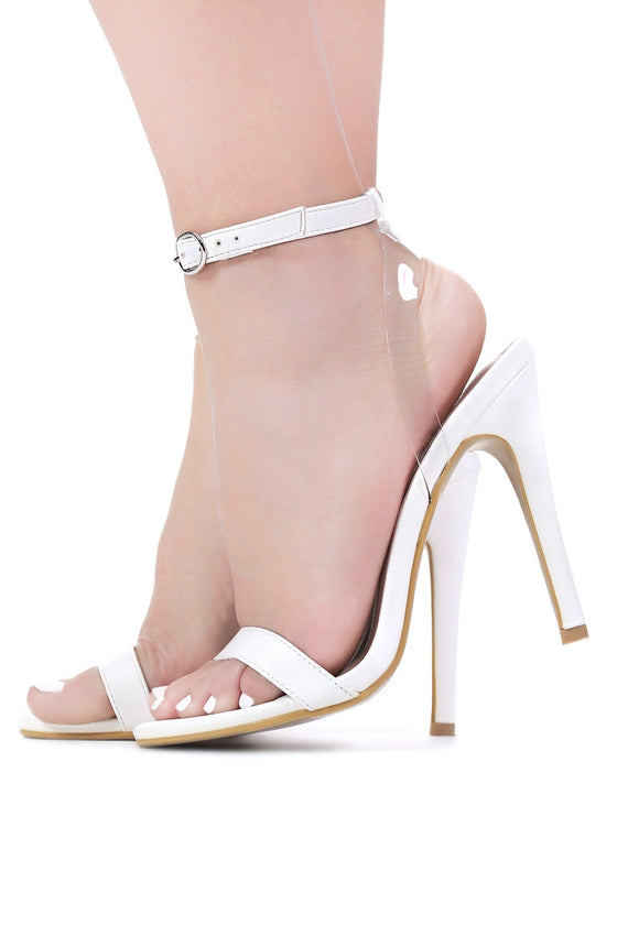 Strappy Anklet Heels