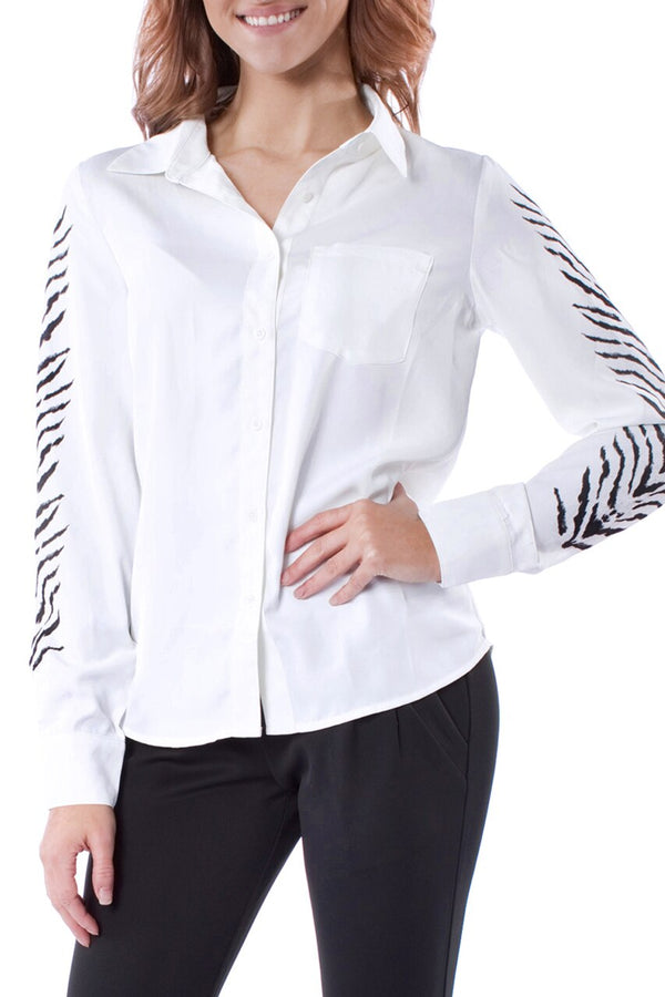 Tiger Long Sleeve Blouse