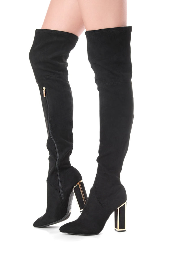 Uptown Thigh-High Boots