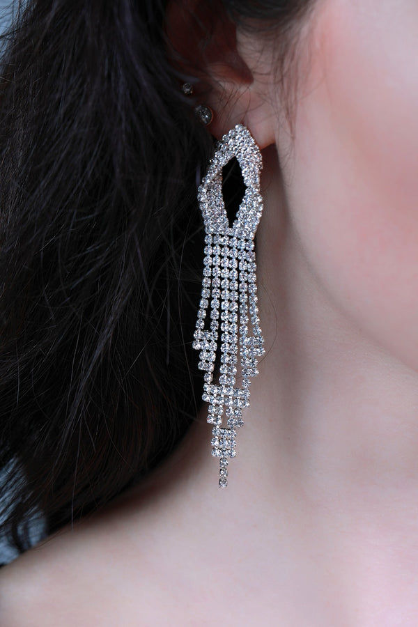 Dangly Chandelier Earrings