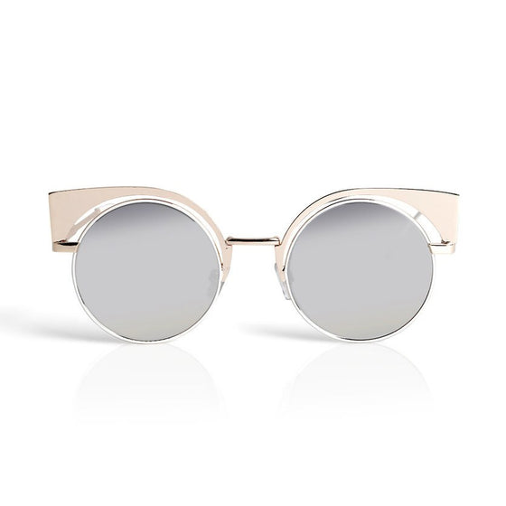 White Cat Eye Retro Sunglasses