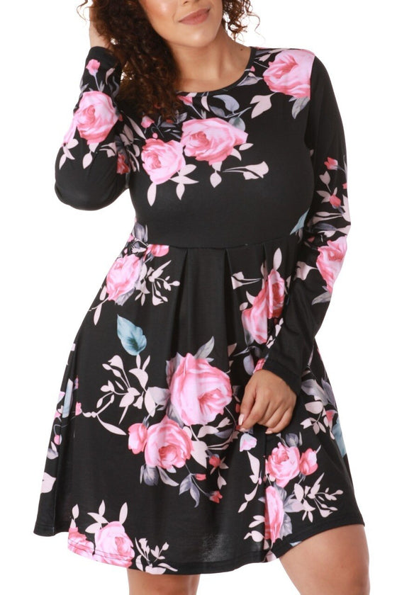 Bella Floral Mini Dress