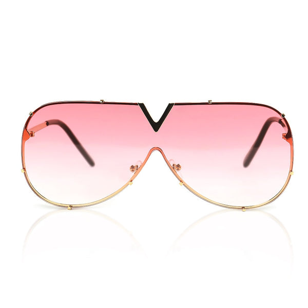 Pink Clubmaster Sunglasses