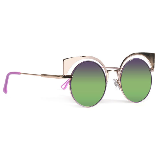 Purple Cat Eye Retro Shades