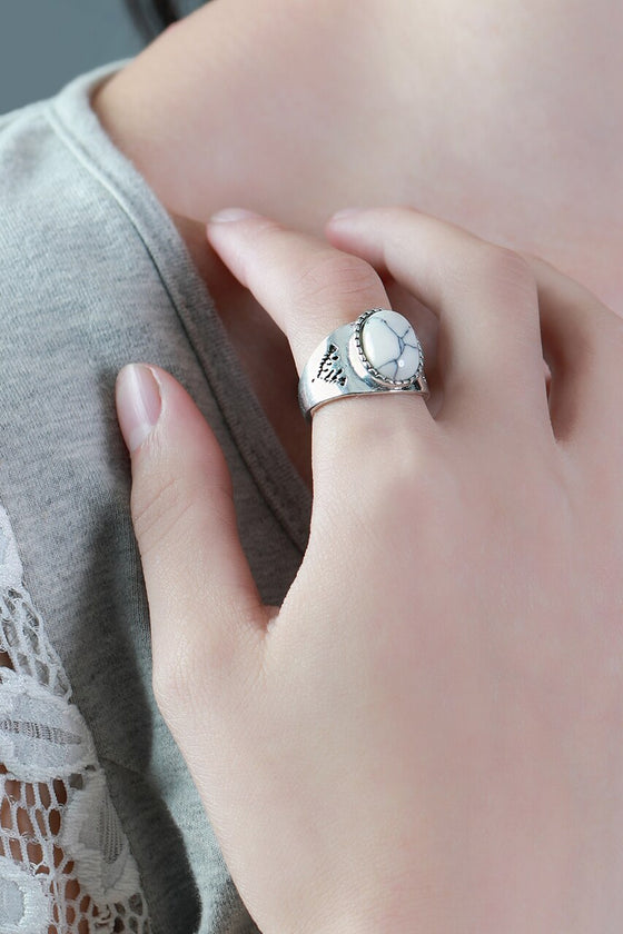 Statement Marble Ring