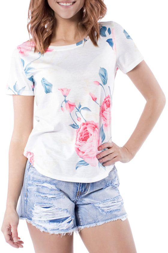Vibes Floral Tee