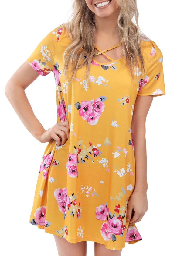 Honey and Rose Mini Dress