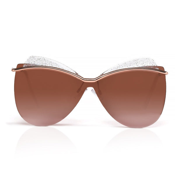 Rose Gold Butterfly Shades