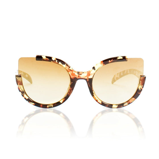 Mahogany Cat Eye Sunglasses