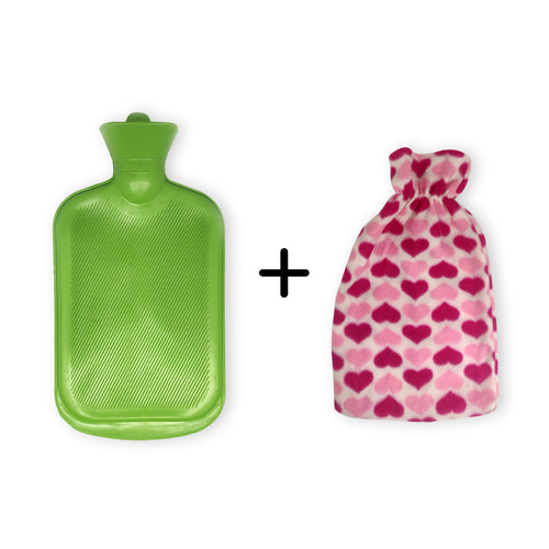 Sahyog Wellness Hot Water Bottle with Cover (Cover color may vary)