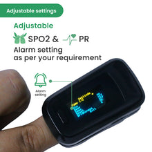 Load image into Gallery viewer, Sahyog Wellness Advanced OLED Type Fingertip Pulse Oximeter
