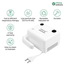 Load image into Gallery viewer, Sahyog Wellness Compressor Piston Nebulizer (Mini)