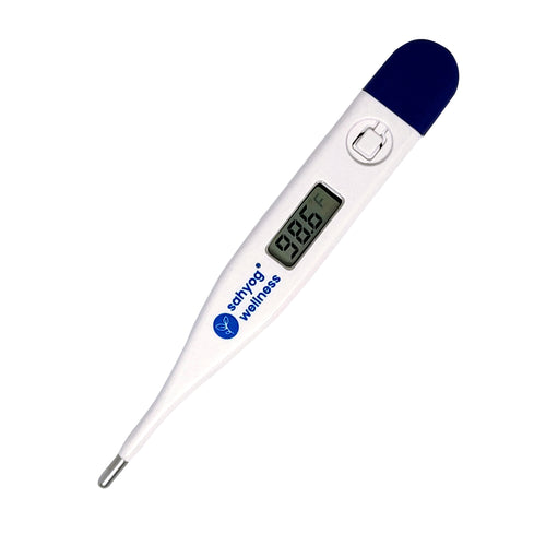 Sahyog Wellness Digital Clinical Thermometer with Quick Measurement of Oral and Underarm Temperature in Celsius and Fahrenheit