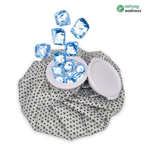 Sahyog Wellness Ice Bag Used for First Aid, Sports Injury, Pain Relief and Cold Therapy