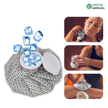 Load image into Gallery viewer, Sahyog Wellness Ice Bag Used for First Aid, Sports Injury, Pain Relief and Cold Therapy