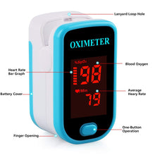 Load image into Gallery viewer, Sahyog Wellness LED Type Fingertip Pulse Oximeter (Blue) (Model - M230)
