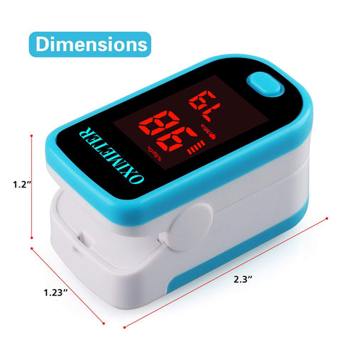 Sahyog Wellness LED Type Fingertip Pulse Oximeter (Blue)