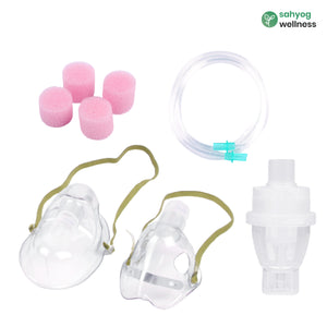 Sahyog Wellness Nebulization kit with Chamber for Child & Adult used in Heavy Duty Compressor Nebulizers