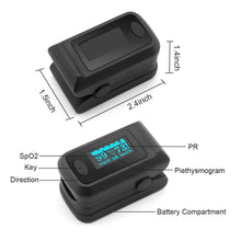 Load image into Gallery viewer, Sahyog Wellness OLED Type Fingertip Pulse Oximeter