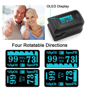 Sahyog Wellness OLED Type Fingertip Pulse Oximeter