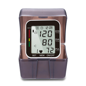 Sahyog Wellness Automatic Wrist Digital Blood Pressure Monitor Machine with Voice Command