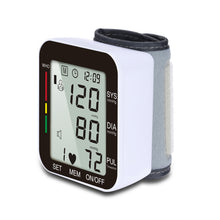 Load image into Gallery viewer, Sahyog Wellness Automatic Wrist Digital Blood Pressure Monitor Machine with Voice Command
