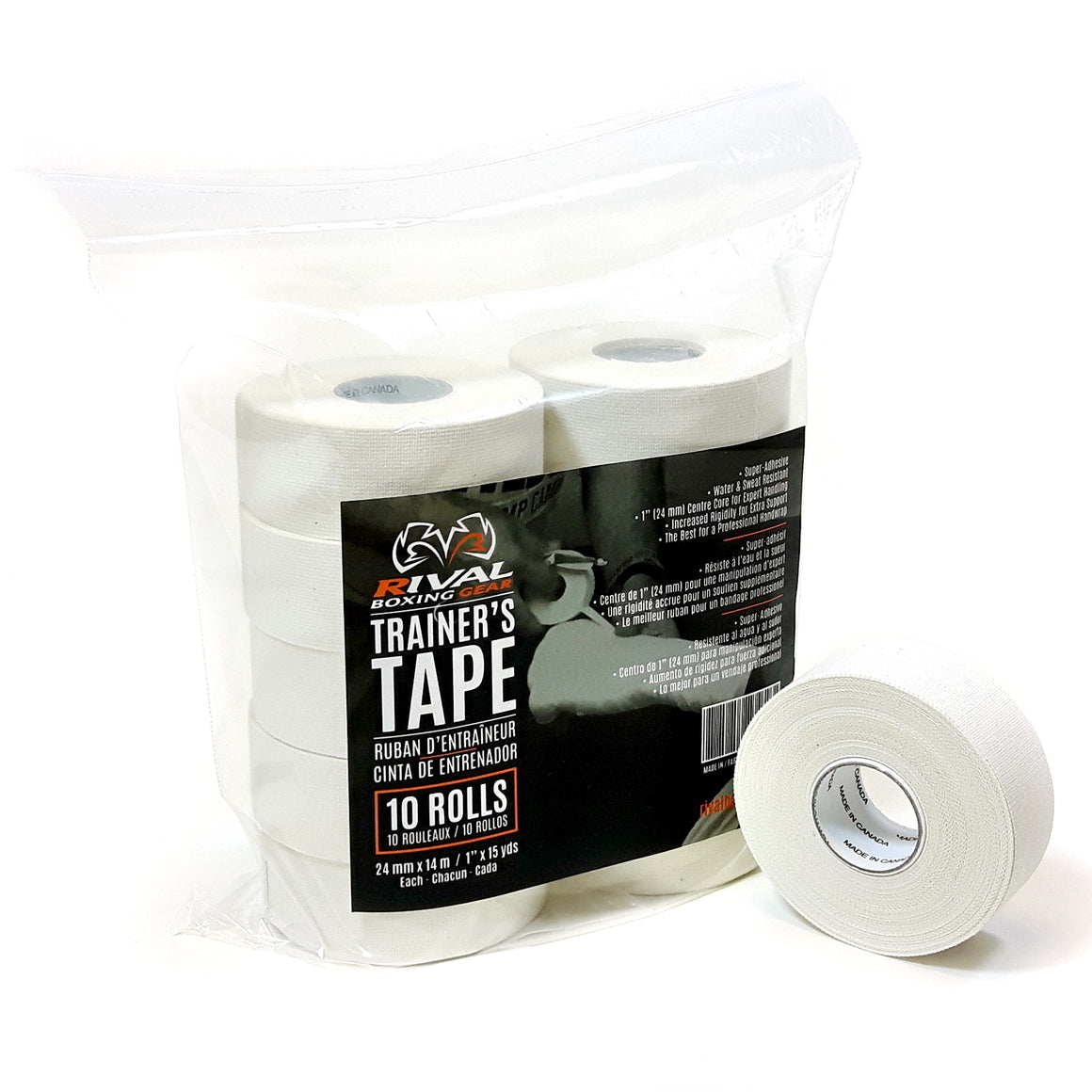 Rival Trainers Tape - Pack of 10 Rolls