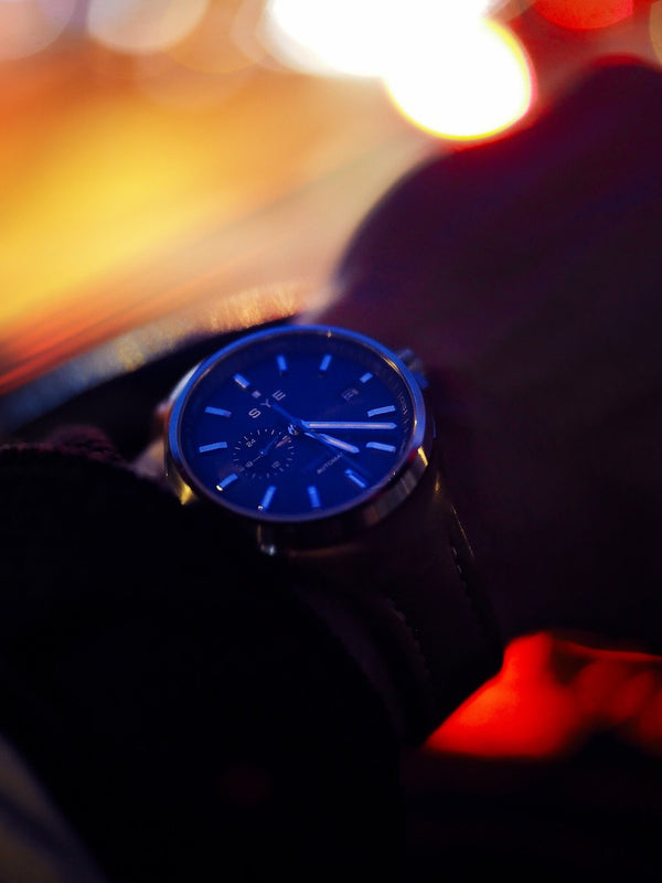 Meet Arnaud and his SYE MOT1ON Automatic 24 watch