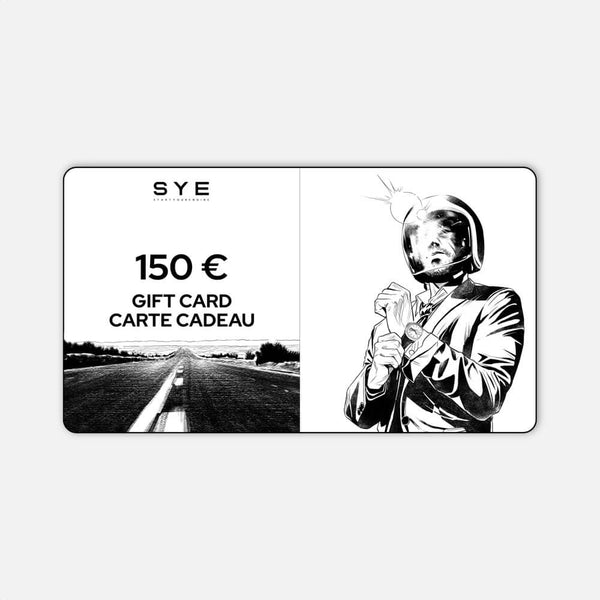 SYE [Start Your Engine] - Gift card-150 €-sye-start-your-engine-watches-montres