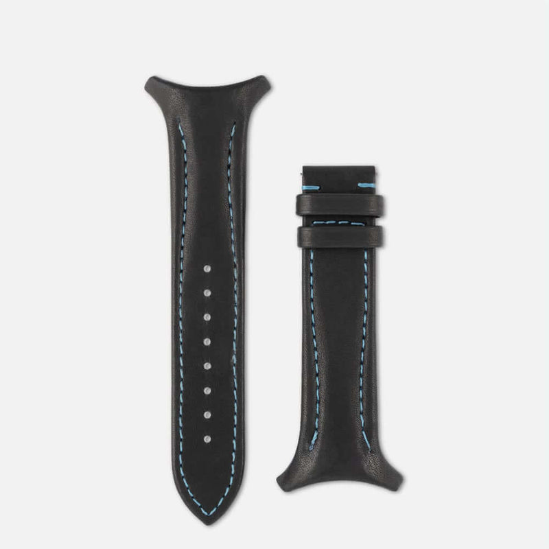 Fastback Premium strap [Carbon black]-Strap alone-sye-start-your-engine-watches-montres