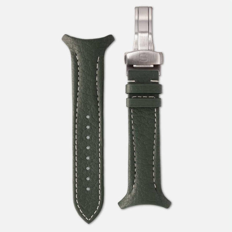 Fastback Premium strap [Highland]-Strap+ folding clasp-sye-start-your-engine-watches-montres
