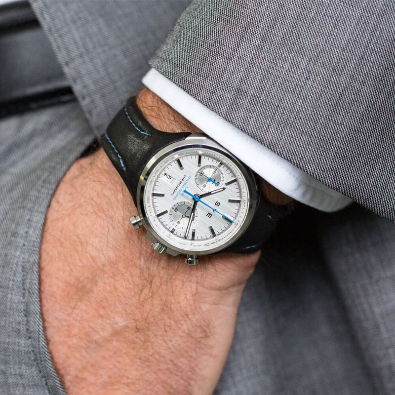 SYE MOT1ON Chronograph [Silver edition]-[variant_title]-sye-start-your-engine-watches-montres