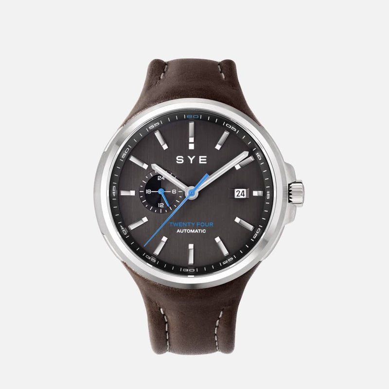 SYE MOT1ON Automatic 24 [Black edition]-Skybury-sye-start-your-engine-watches-montres