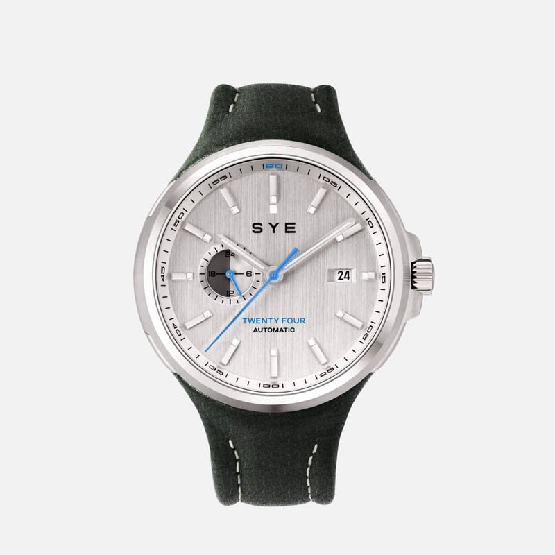 SYE MOT1ON Automatic 24 [Silver edition]-Highland-sye-start-your-engine-watches-montres