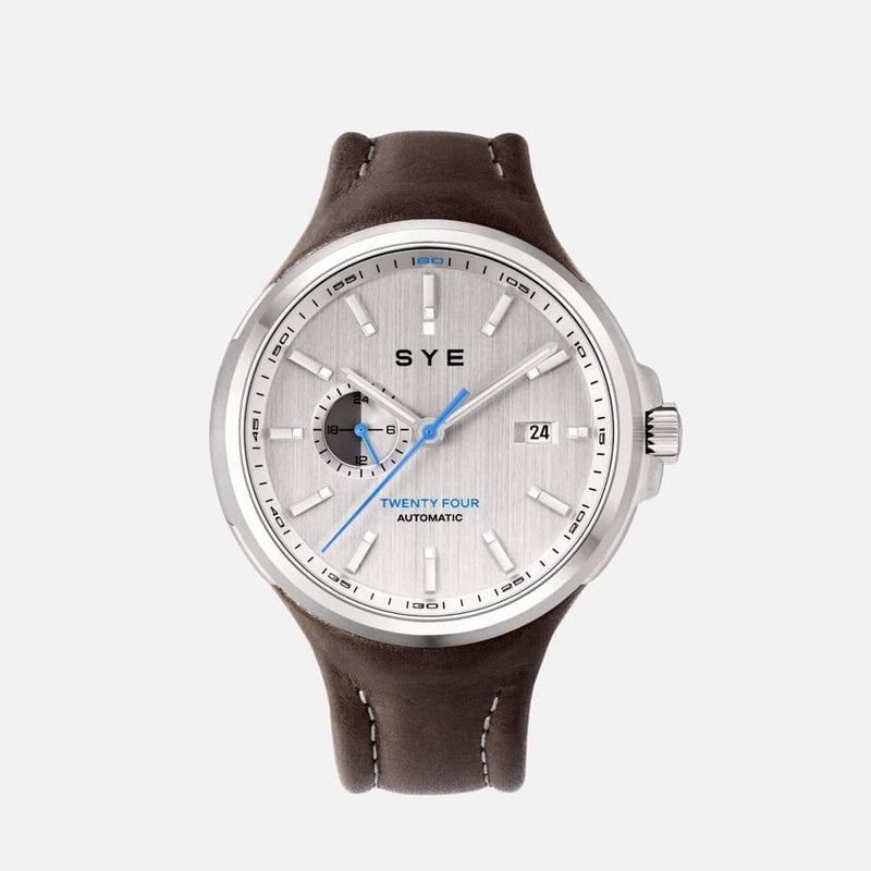 SYE MOT1ON Automatic 24 [Silver edition]-Skybury-sye-start-your-engine-watches-montres
