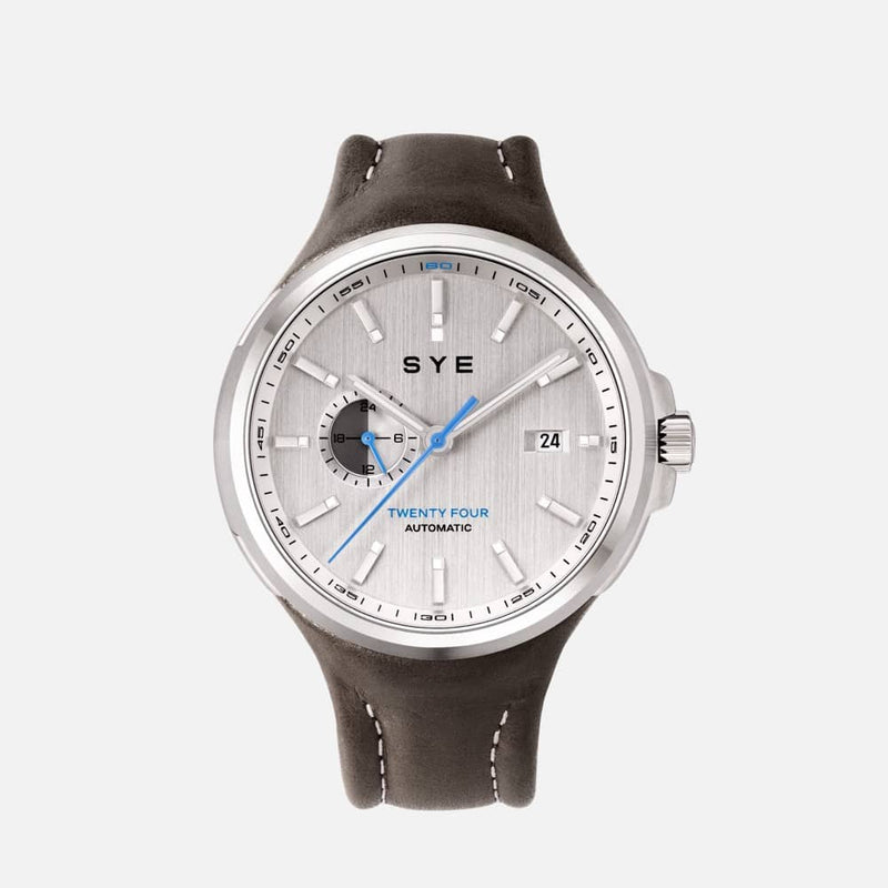 SYE MOT1ON Automatic 24 [Silver edition]-Tundra-sye-start-your-engine-watches-montres
