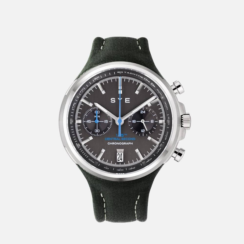 SYE MOT1ON Chronograph [Black edition]-Highland-sye-start-your-engine-watches-montres