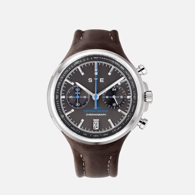 SYE MOT1ON Chronograph [Black edition]-Skybury-sye-start-your-engine-watches-montres
