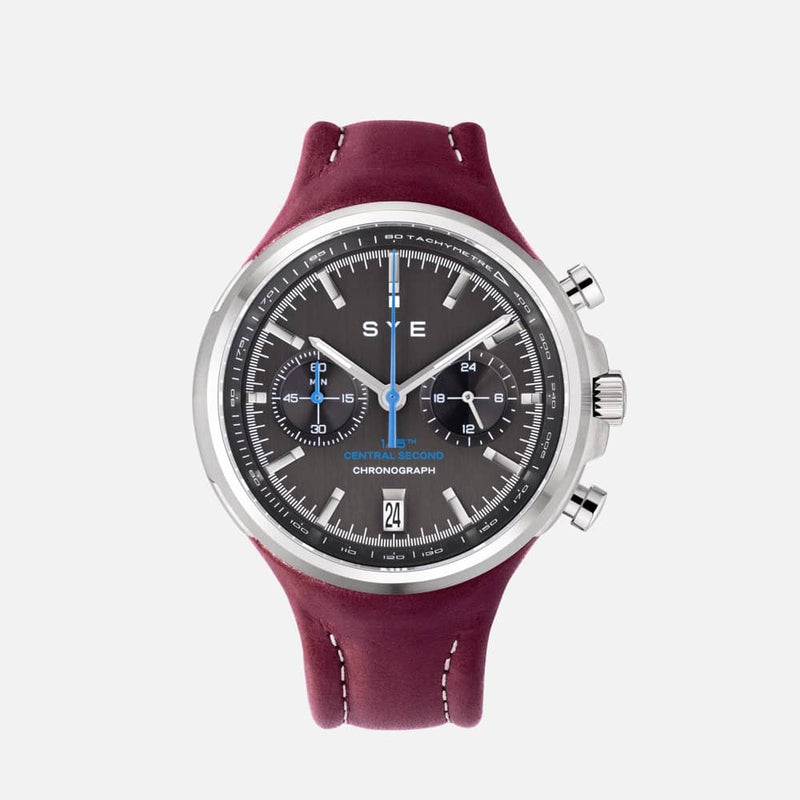 SYE MOT1ON Chronograph [Black edition]-Syrah-sye-start-your-engine-watches-montres