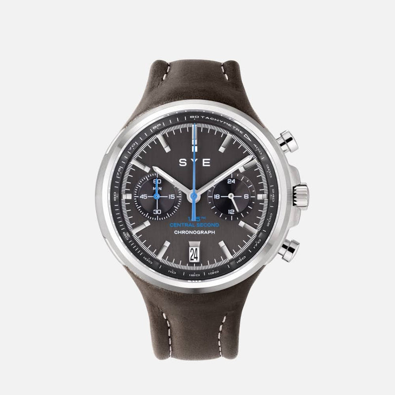 SYE MOT1ON Chronograph [Black edition]-Tundra-sye-start-your-engine-watches-montres