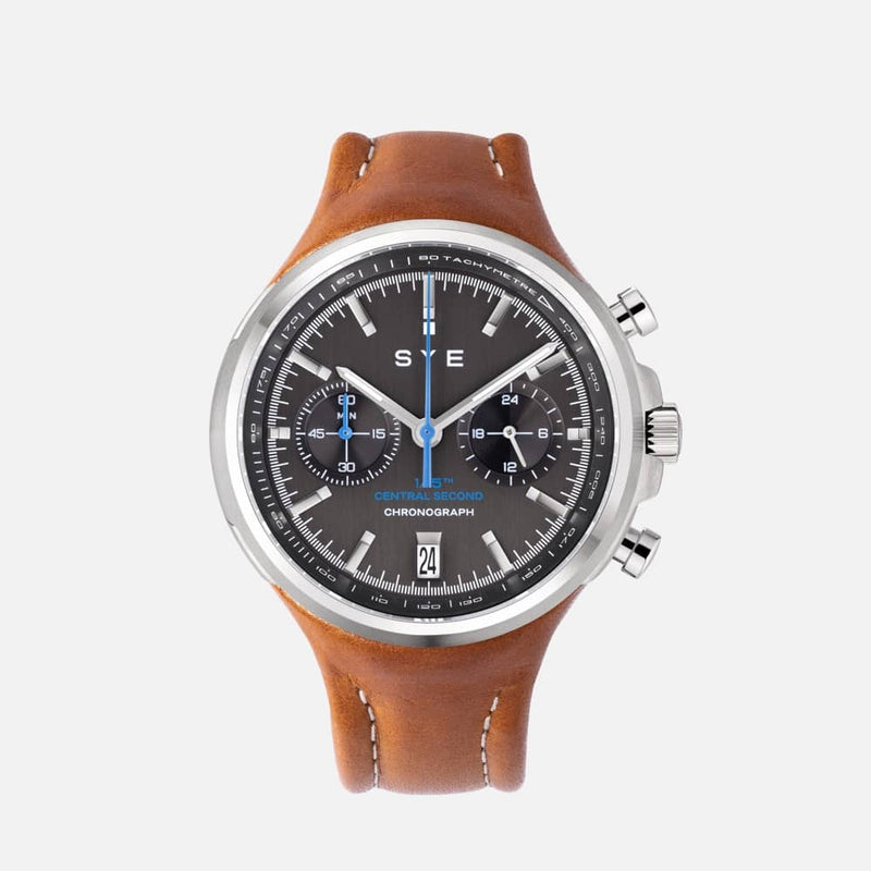 SYE MOT1ON Chronograph [Black edition]-Whiskey-sye-start-your-engine-watches-montres