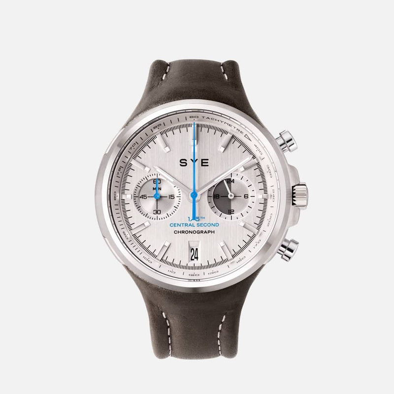 SYE MOT1ON Chronograph [Silver edition]-Tundra-sye-start-your-engine-watches-montres
