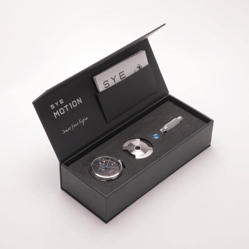 SYE MOT1ON Automatic 24 [Black edition]-[variant_title]-sye-start-your-engine-watches-montres