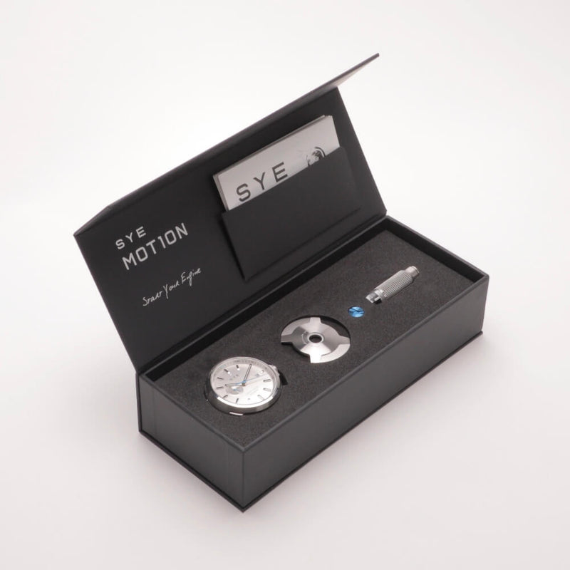 SYE MOT1ON Automatic 24 [Silver edition]-[variant_title]-sye-start-your-engine-watches-montres